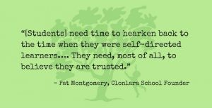 Pat Montgomery Quote Re: Giving Time