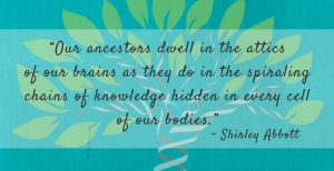 Shirley Abbott Quote Re: Ancestry