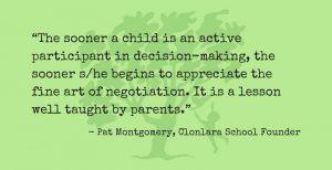 Pat Montgomery Quote Re: Negotiation