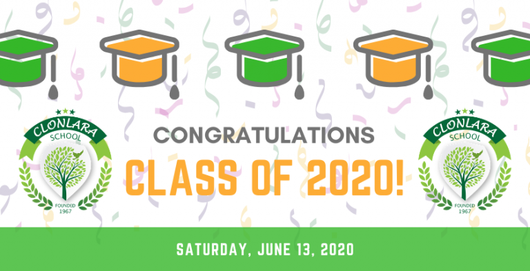 Celebrating the Class of 2020