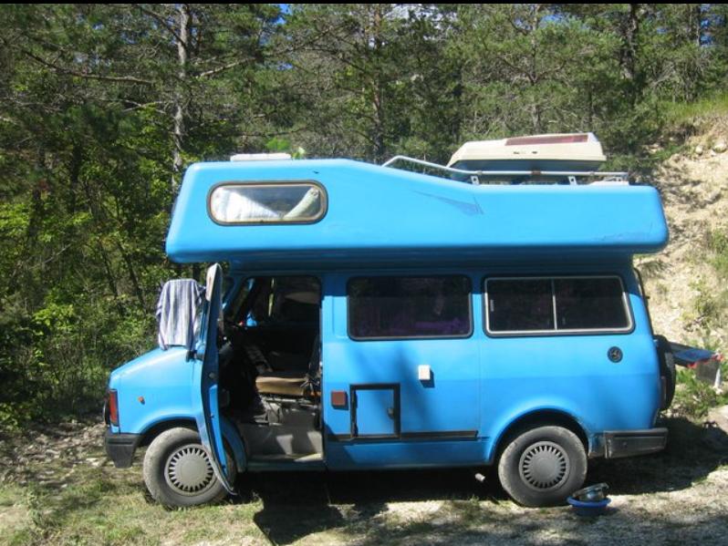 Rose's vintage camper!