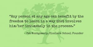 Pat Montgomery Quote Re: Taking Ownership of Learning