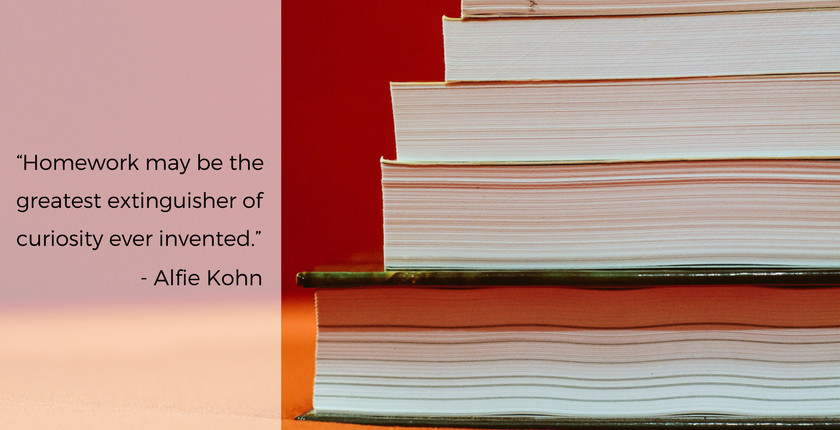 Alfie Kohn Quote Re: Homework