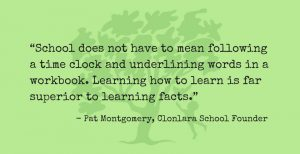 Pat Montgomery Quote Re: Learning How to Learn