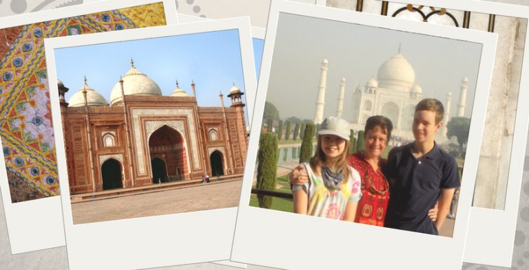 A Trip to India Through the Eyes of Two Homeschooled Kids
