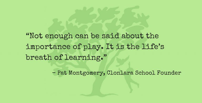 Not Enough Can Be Said About Play