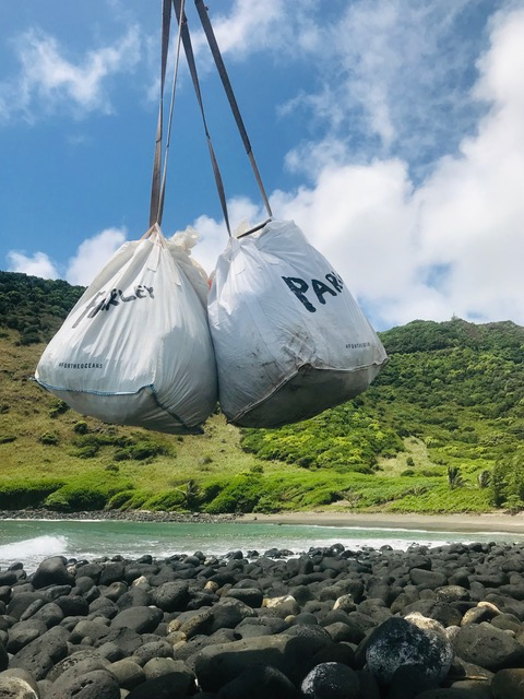 Plastic Collection in Hawaii