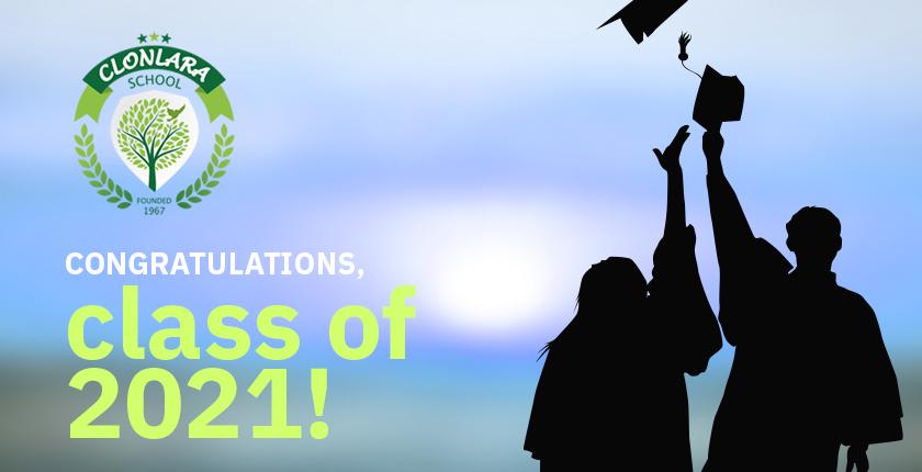 Congratulations, Class of 2021!