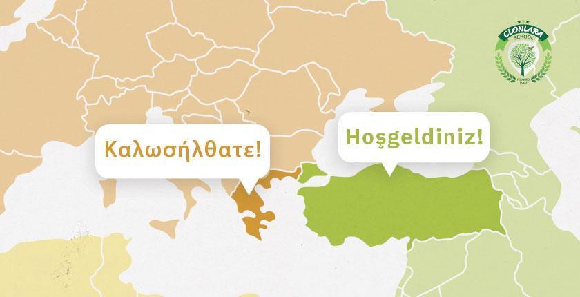 Clonlara Welcomes Students in Greek and Turkish